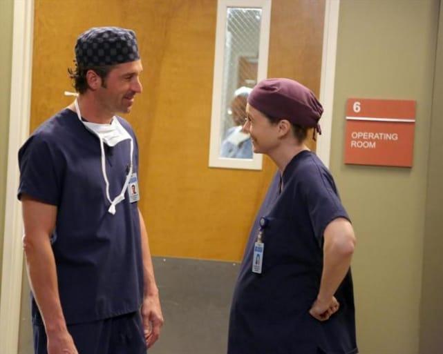 Ellen Pompeo and Patrick Dempsey