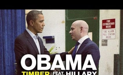 "Barack Obama and Hillary Clinton ""Duet"" on Timber: Listen Now!"