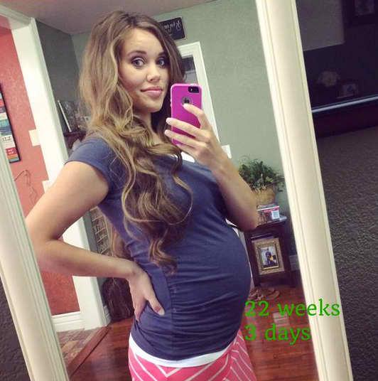Jessa Duggar Baby Bump Photo: 22 Weeks!