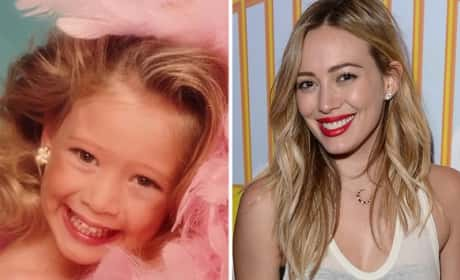 Hilary Duff as a Kid