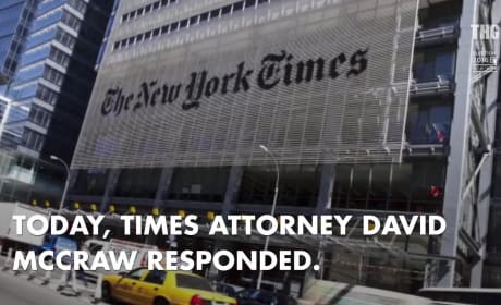 Donald Trump: Slammed by The New York Times!