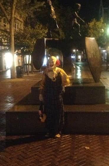 Northampton Clown Picture