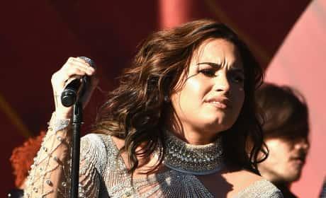 Demi Lovato in Central Park