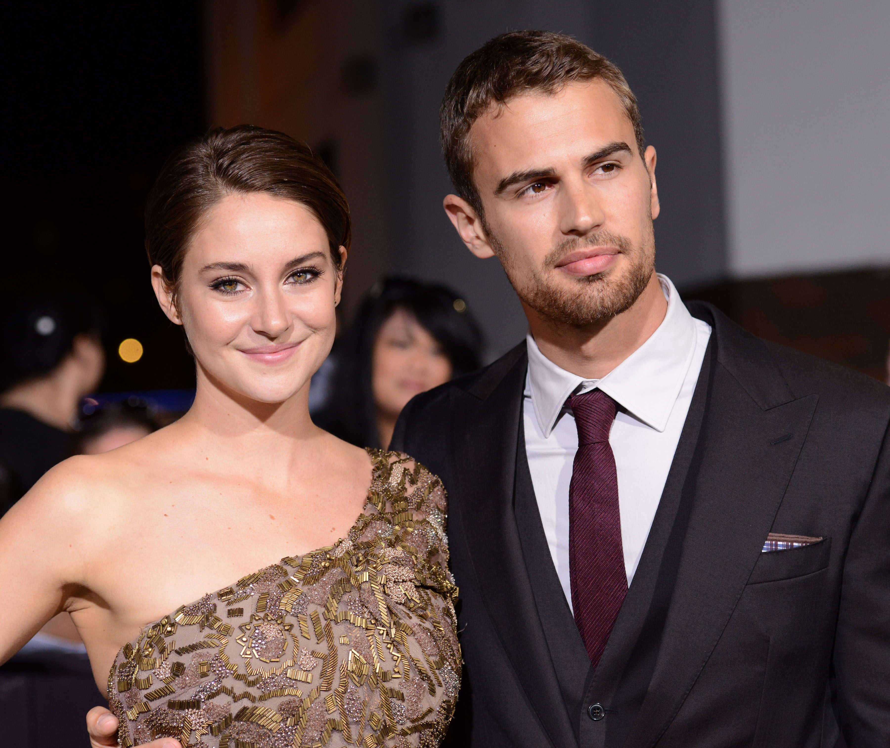 James engaged theo shailene woodley and Who is