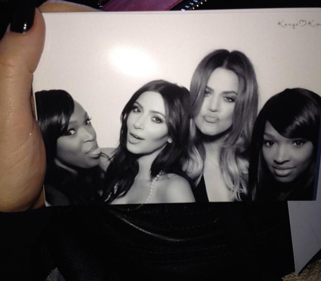 Kim, Khloe and Friends