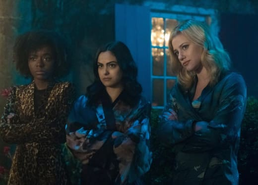 Ashleigh Murray, Camila Mendes and Lili Reinhart on Riverdale