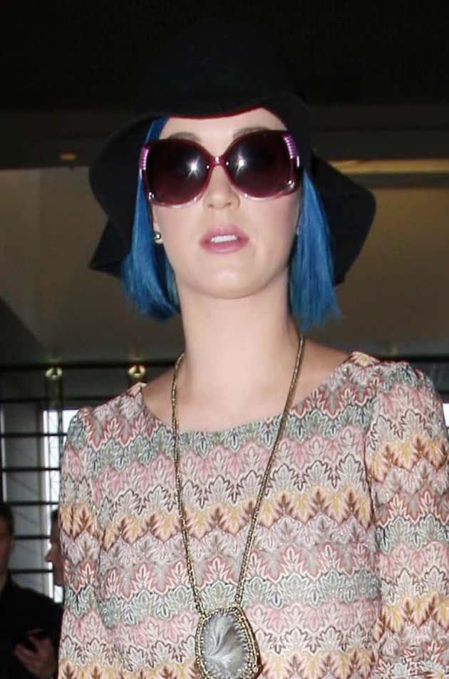 Katy Perry's Blue Hair