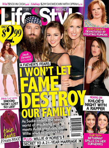 Duck Dynasty Life & Style Cover