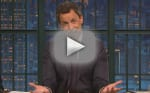 Seth Meyers: My Son Was Born ... In Our Building's Lobby!