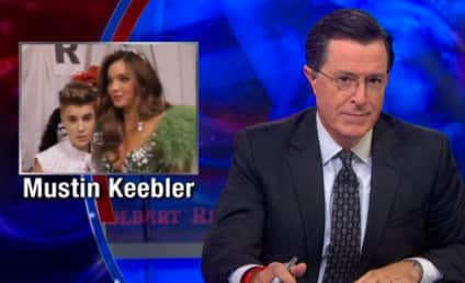 Stephen Colbert Breaks Down the Justin Bieber-Orlando Bloom Fight: Who is Jelusty Gobbler?!