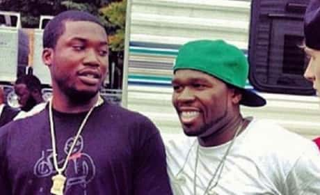 50 Cent and Meek Mill