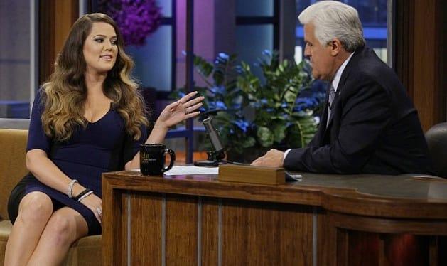 Khloe Kardashian on Tonight Show