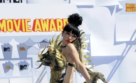 Bai Ling at the 2015 MTV Movie Awards