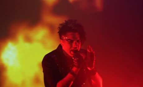 Adam on Fire