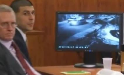 Aaron Hernandez: Video of Former Patriots Star Holding Gun on Day of Murder Shown in Court