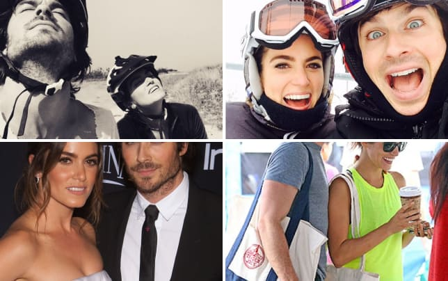 Ian somerhalder and nikki reed totes in love