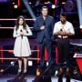 Livia Faith, Carson Daly, Terrence Cunningham on The Voice