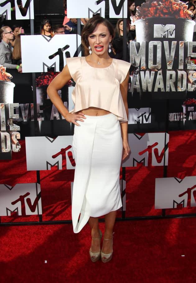 Karina Smirnoff at MTV Movie Awards