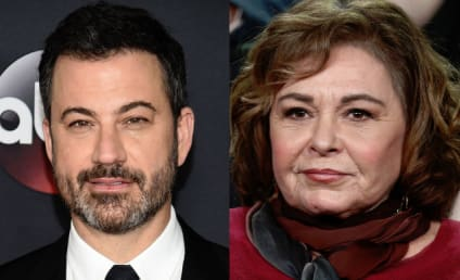 Jimmy Kimmel: Roseanne Barr Isn't Racist! She's Just Crazy!