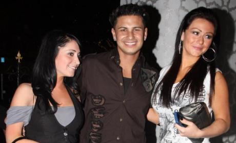 Angelina, Pauly D and J-Woww