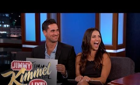 Andi Dorfman, Josh Murray on Jimmy Kimmel Live - No-ly Wed Game