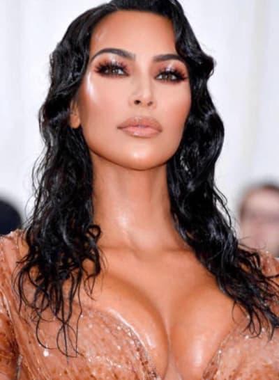 Kim Kardashian's Met Gala look 2019