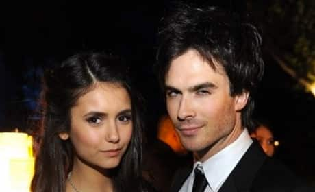 Ian Somerhalder, Nina Dobrev Photo