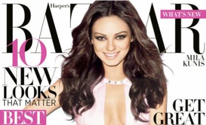 Mila Kunis Covers Harper's Bazzar