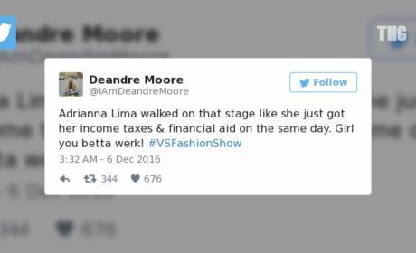 Victoria Secret Fashion Show 2016: Twitter Reacts!