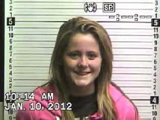 Jenelle Evans Mugshot 2012