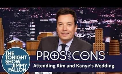 Jimmy Fallon on Kimye Wedding: Kanye's Best Man is Kanye!