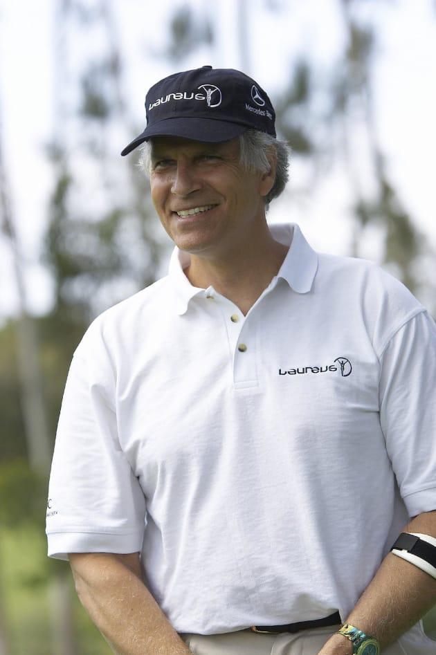 Mark Spitz Golf Photo