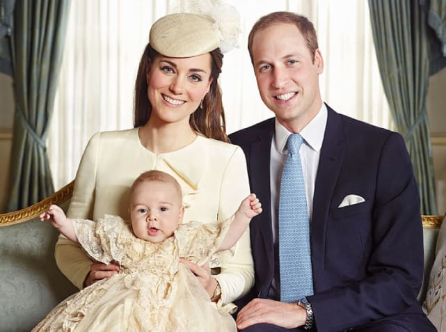 William And Kate Young Prince George: A Young...