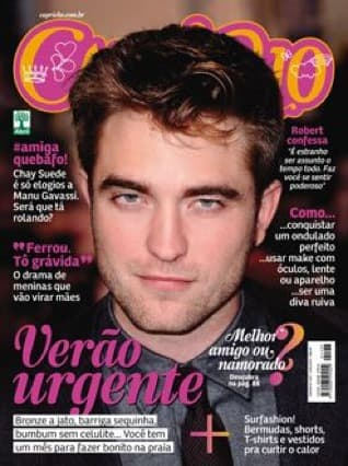 Robert Pattinson Capricho Cover