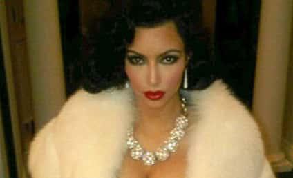Kim Kardashian Goes Gangster