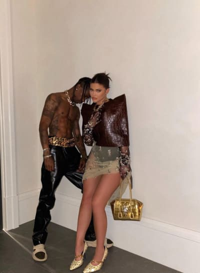 Kylie Jenner and Travis Scott for Givenchy