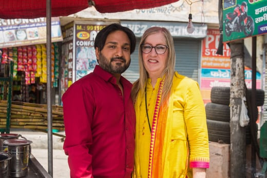 Jenny Slatten and Sumit Singh for 90 Day Fiance: The Other Way Season 3