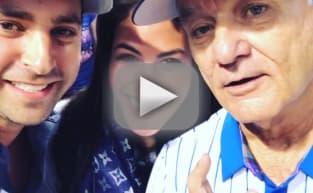 Bill Murray Helps Cubs Fans Announce Pregnancy: Watch! Cheer!