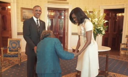 106-Year Old Meets the Obamas, Dances with Joy