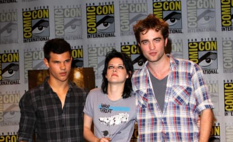 Pattinson, Lautner and Stewart