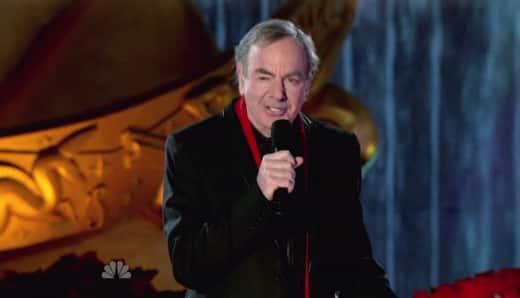 Neil Diamond on Stage
