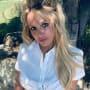 Britney Spears Hits the beach in Hawaii in a yellow bikini