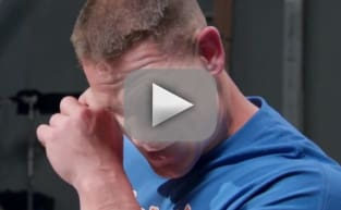 John Cena Receives Surprise from Fans, Breaks Down into Adorable Puddle of Tears
