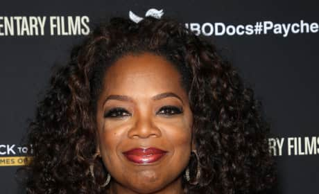 Oprah Red Carpet Image