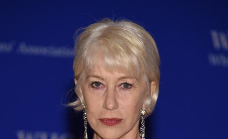 Helen Mirren at the 2016 White House Correspondents Dinner