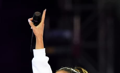 Ariana Grande Benefit Concert Pic