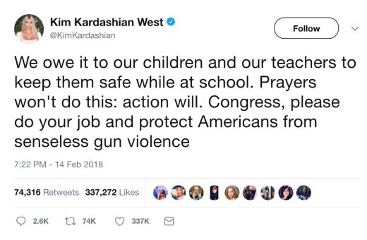 kim on guns