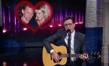 Stephen Colbert Says Goodbye to TomTay