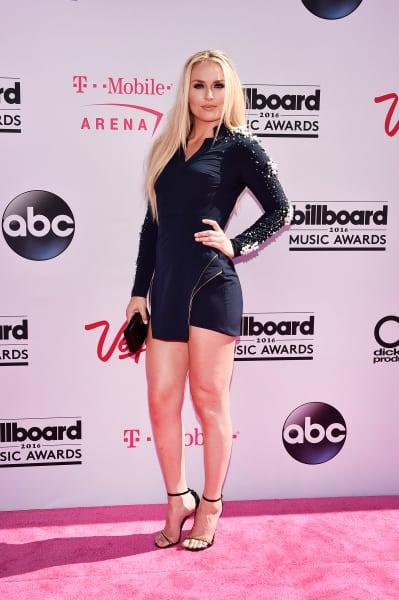 Lindsey Vonn at the Billboard Music Awards
