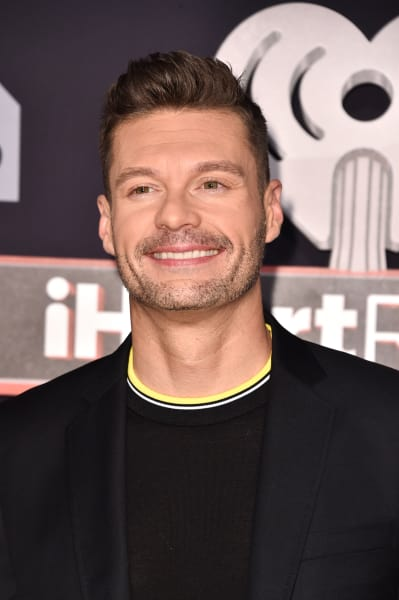 Ryan Seacrest at iHeartRadio Music Awards